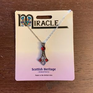 NWT Miracle Jewellery Silver Necklace